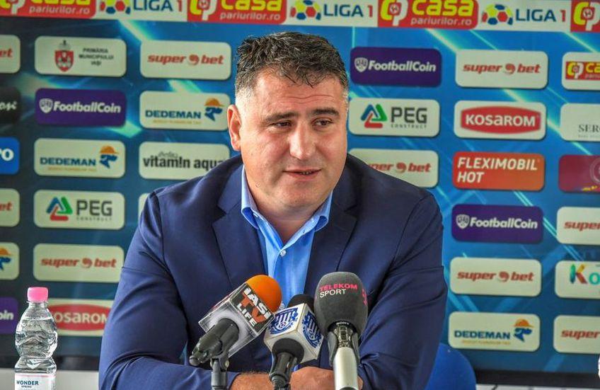 Ciprian Paraschiv, președinte Poli Iași