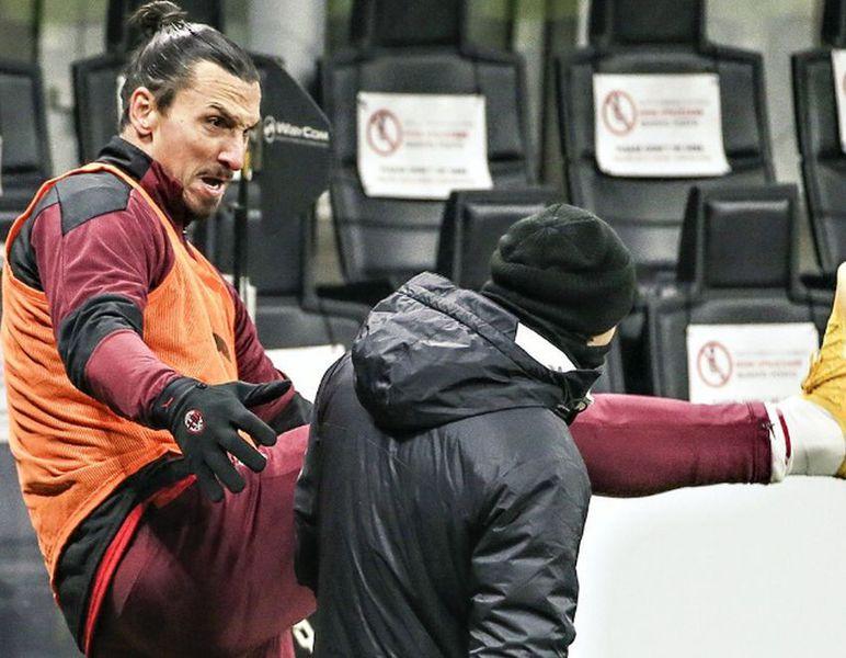 """Zlatan Ibrahimovic a """"șocat"""" la ultimul meci din Serie A » Gestul suedezului face înconjurul planetei"""