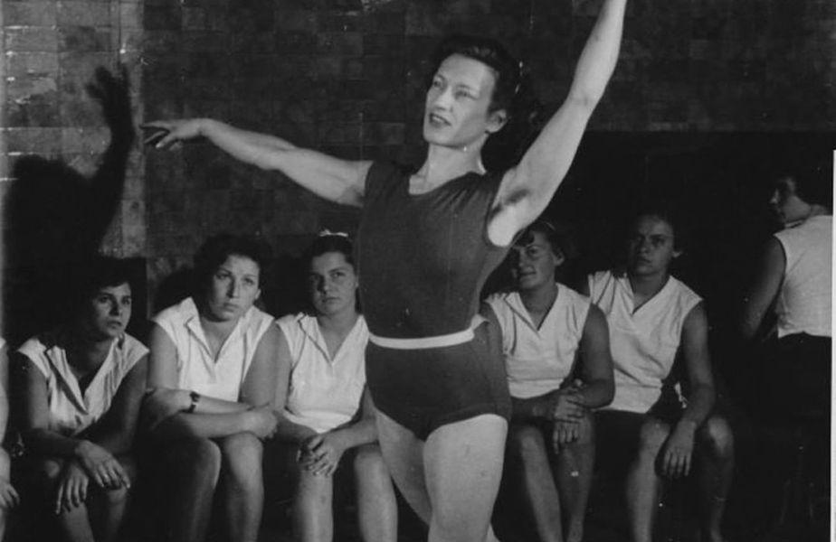 Agnes Keelti pe când era gimnastă FOTO FIG