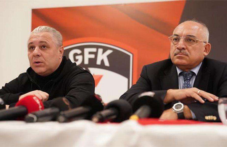 Mehmet Büyükekşi și Marius Șumudică // foto: fanatik.com.tr