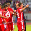 MattiaMontini, 28 de ani, atacantul Astrei, și-a rezolvat problemele cu Dinamo, fostul lui club.
