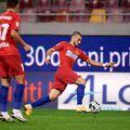 Vali Crețu (la minge) este titular în meciul de Cupă cu Dinamo