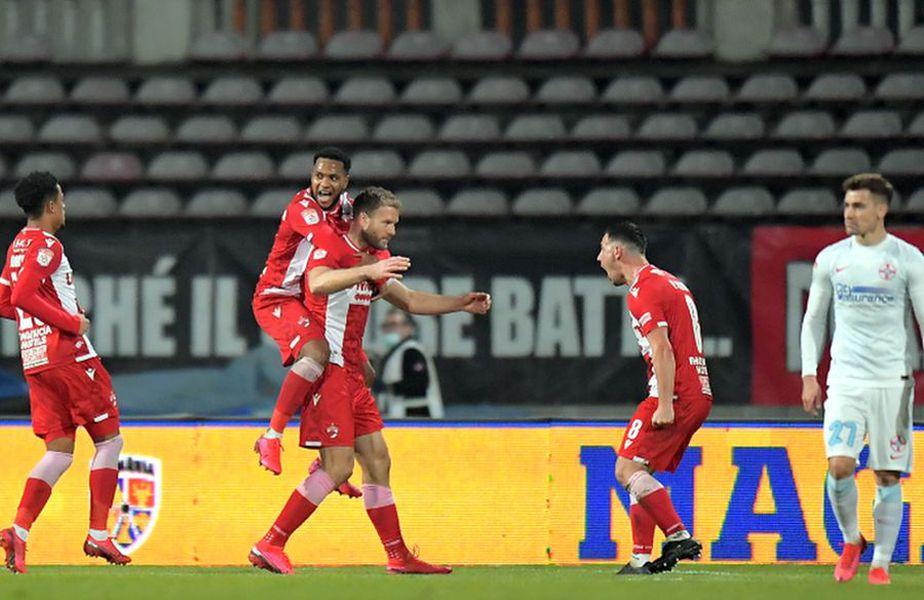 Adam Nemec a marcat în Dinamo - FCSB 1-0