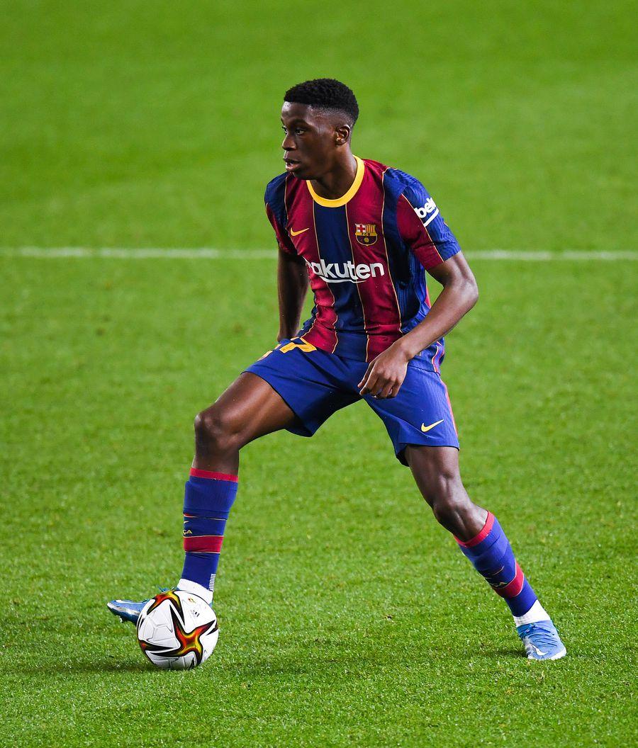 Ilaix Moriba, la primul meci în tricoul Barcelonei FOTO Gettyimages