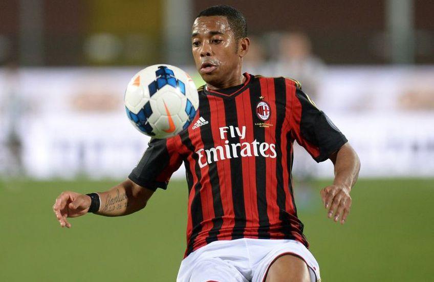 Robinho a marcat 32 de goluri în 144 de meciuri la Milan, între 2010 și 2014