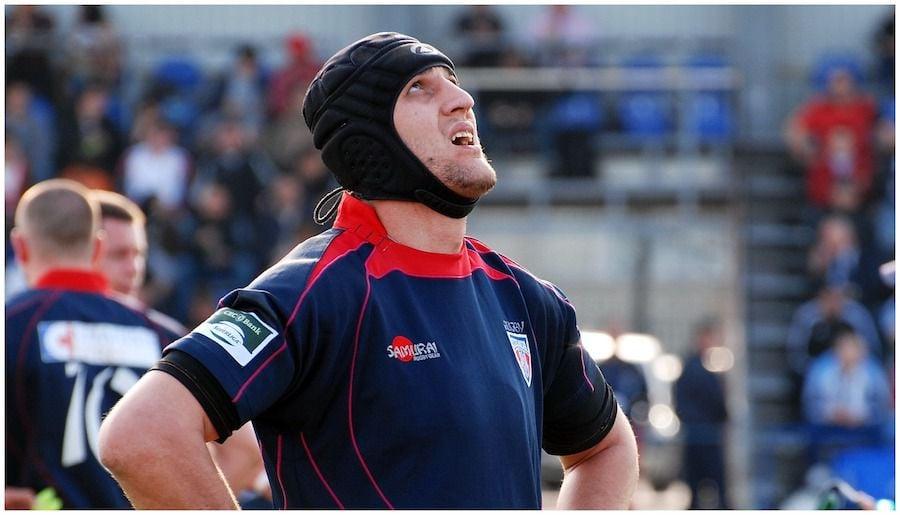 Remus Necula, la revenirea în rugby de după vindecare, în tricoul Stelei