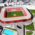 Așa arăta proiectul pentru noul stadion Dinamo, care ar fi fost gata în 2020.