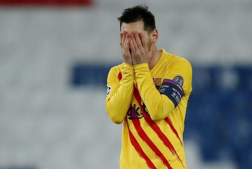 """PSG s-a calificat în """"optimile"""" Champions League, după 1-1 în manșa retur cu Barcelona (5-2 la general pentru francezi)."""