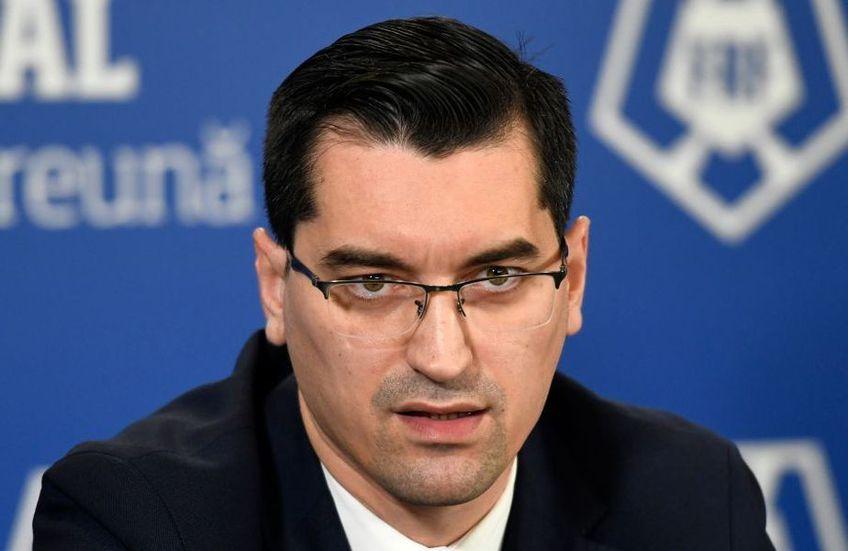 Răzvan Burleanu, șeful FRF