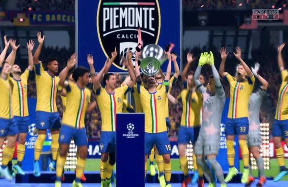 Cristiano Ronaldo a câștigat Liga Campionilor... în FIFA 20