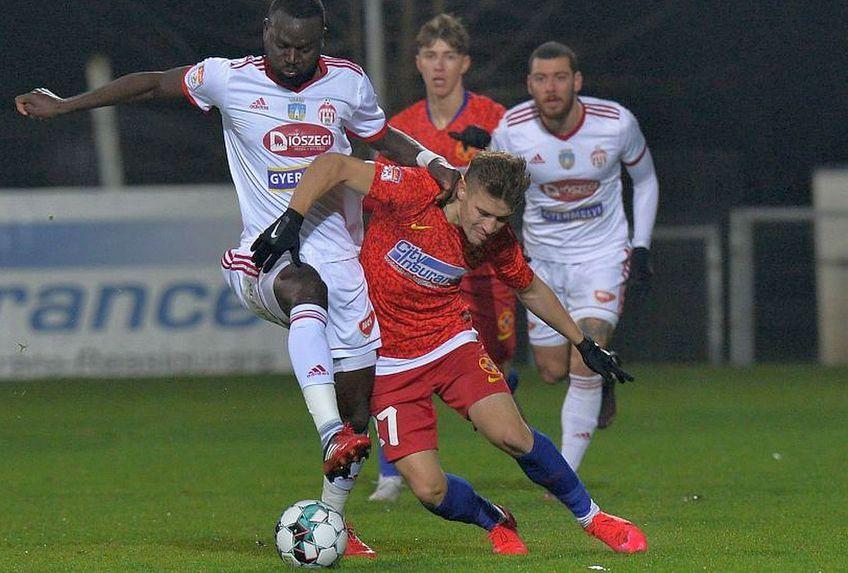 Meciul din tur s-a încheiat egal, 1-1, dar Sepsi a avut mai multe situații de gol // FOTO: Cristi Preda