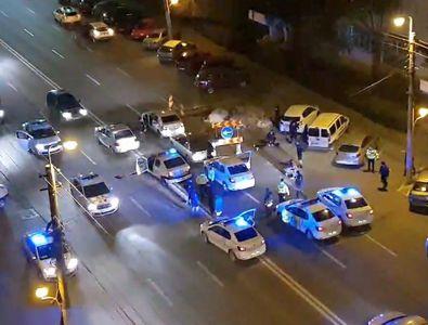 """Doi dinamoviști, urmărire ca-n filme pe străzile din București: """"Am luat-o pe linia de tramvai, stânga, dreapta, poliția după mine!"""""""