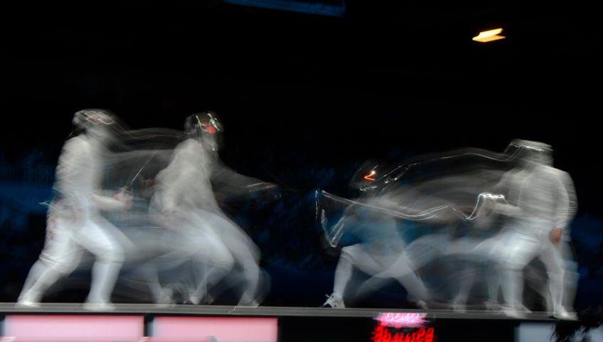 Sabia este cea mai dinamică, rapidă și spectaculoasă probă din scrimă FOTO Raed Krishan