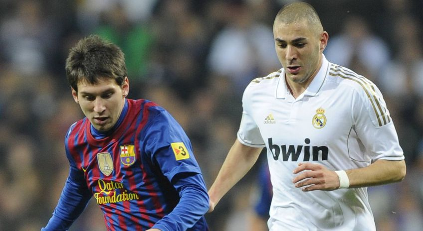 Lionel Messi și Karim Benzema FOTO Imago