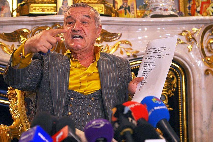 Gigi Becali s-a enervat pe Florin Tănase