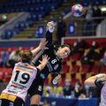 Cristina Neagu a marcat șase goluri în partida de la București cu ȚSKA Moscova  FOTO Cristi Preda