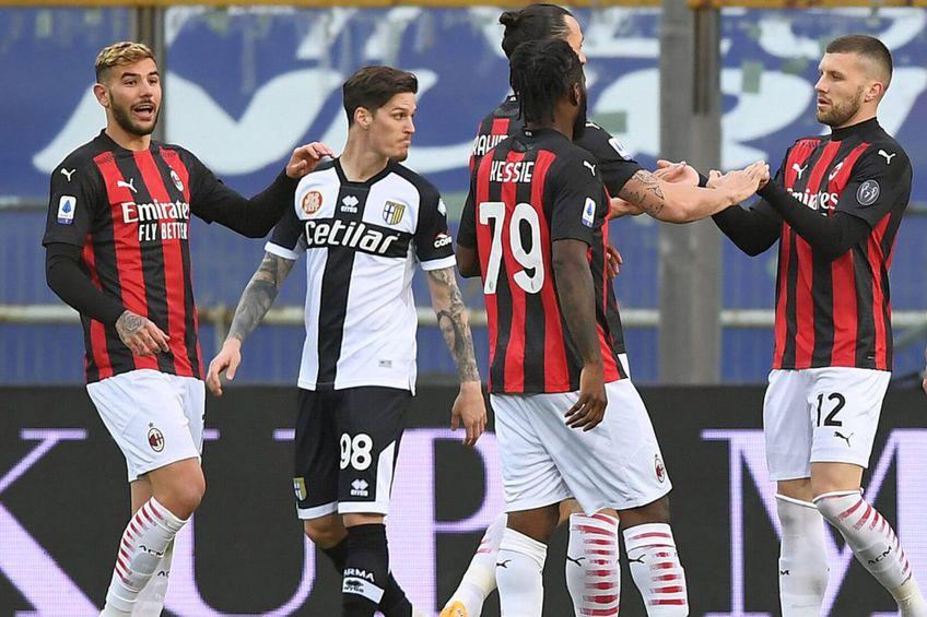 Dennis Man, în Parma - AC Milan // foto: Imago