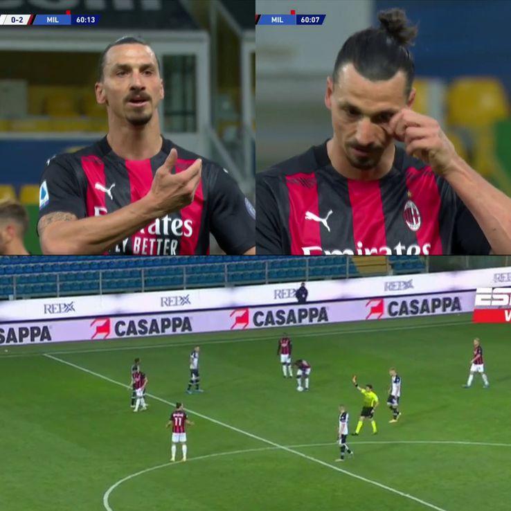 Zlatan Ibrahimovic a fost eliminat