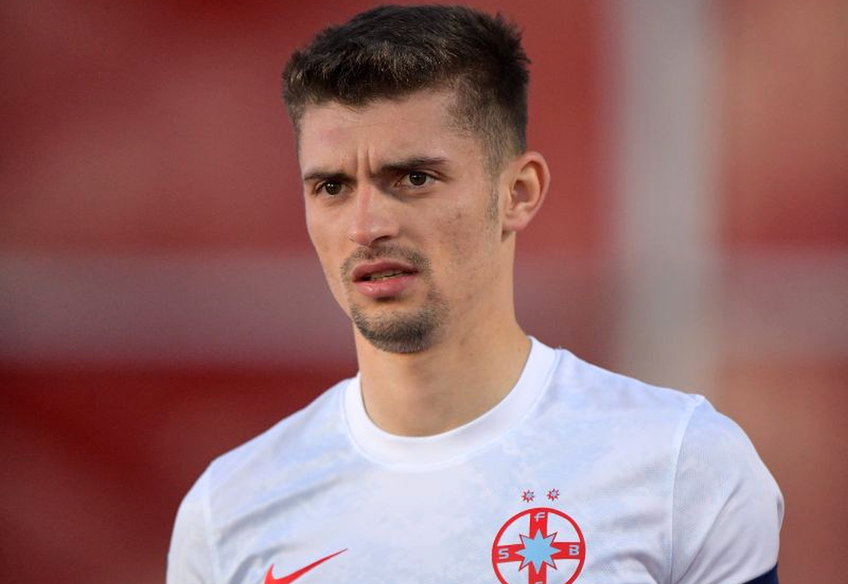 Florin Tănase (26 de ani), marcatorul golului celor de la FCSB în remiza cu Sepsi, scor 1-1, a pus tunurile pe arbitrii din Liga 1