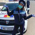 Larisa Iordache a revenit în uniforma de poliție