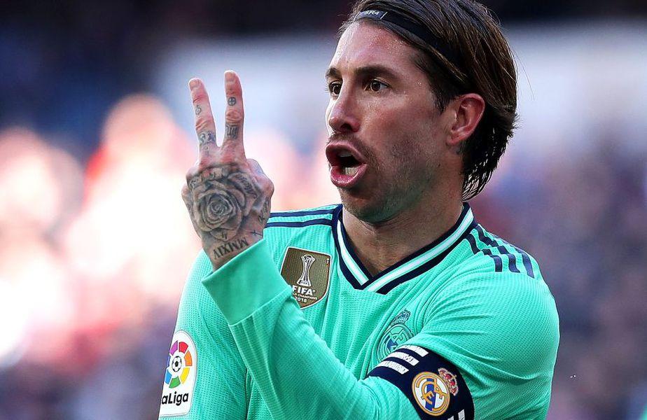 Sergio Ramos, cel mai bine plătit madrilen, va pierde 4,3 milioane în sezonul viitor. foto: Guliver/Getty Images