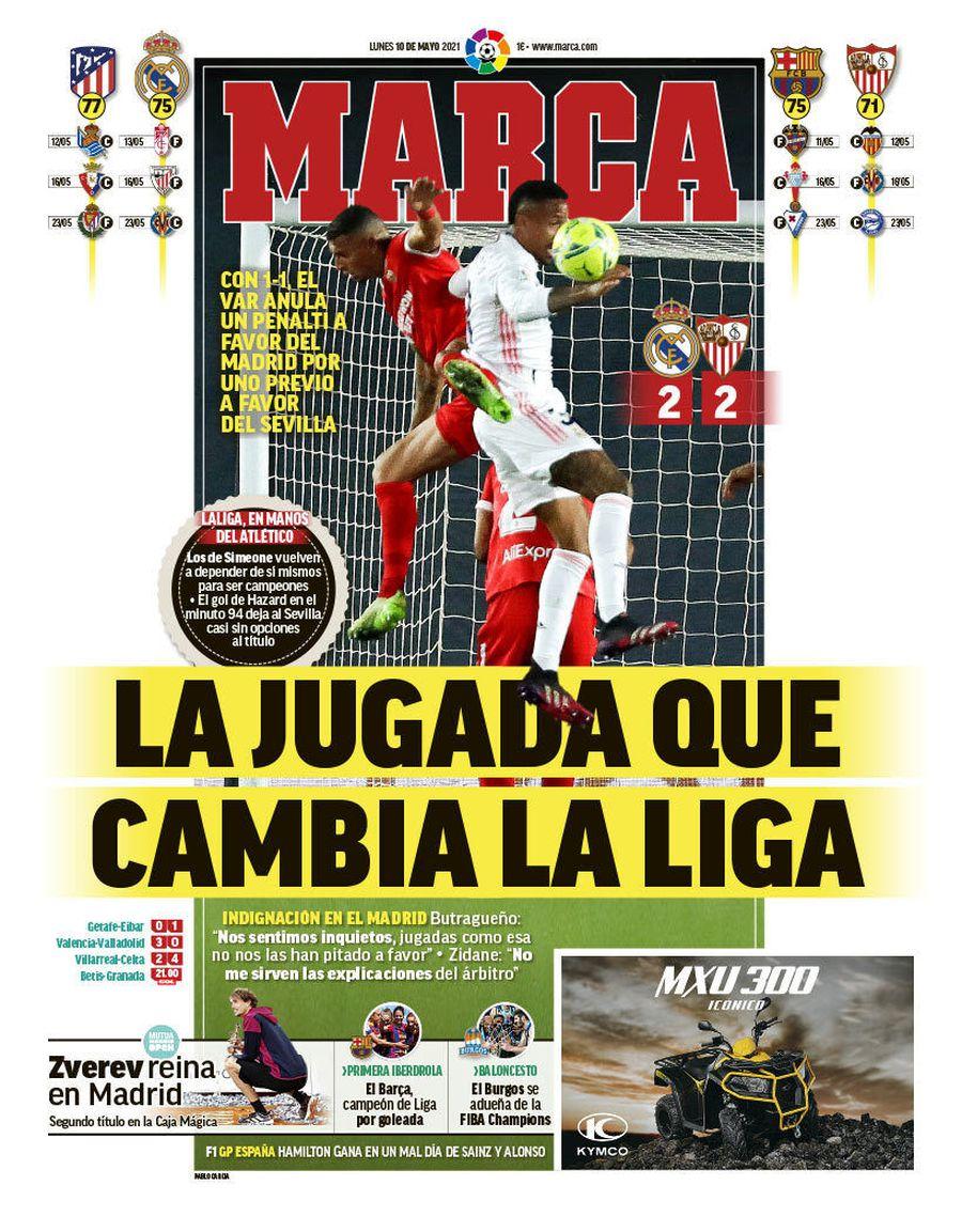 """Scandal uriaș în Spania » Zidane atacă arbitrul pentru marea controversă: """"Sunt furios! A fluierat contra noastră!"""""""
