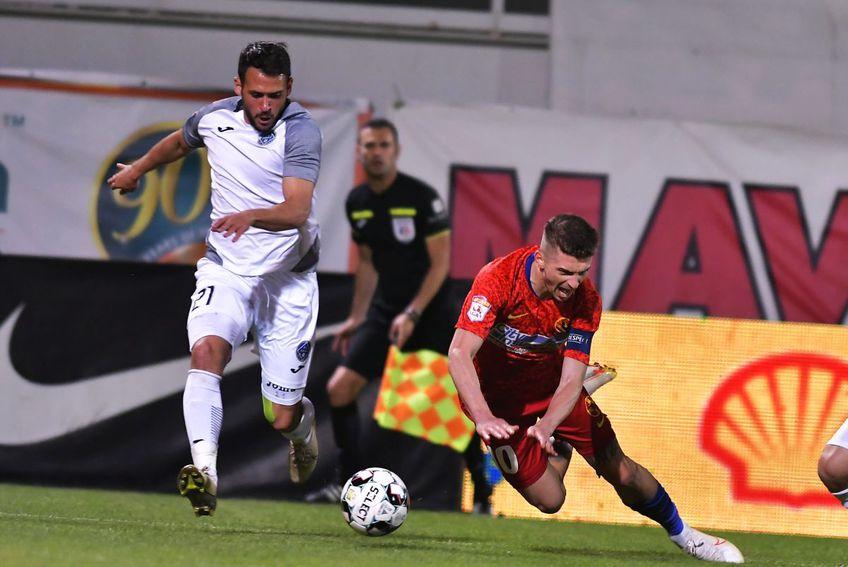 FCSB și Academica Clinceni au remizat, scor 2-2, în etapa #7 a play-off-ului din Liga 1 / FOTO sportpictures.eu