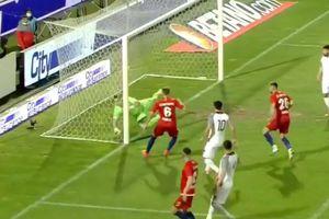 """Dragomir spune că FCSB a avut gol valabil cu Clinceni, în prelungiri: """"Mâna e la jumătate de metru în spatele liniei"""""""