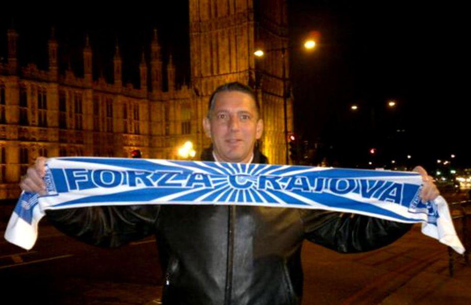 Actorul Costin Mărculescu, un iubitor al fotbalului din Craiova, a fost găsit mort în propria locuință
