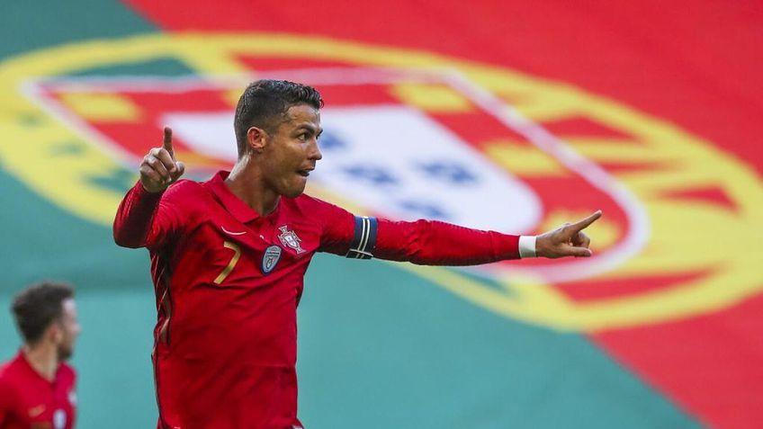 Încă o reușită în tricoul Portugaliei pentru Cristiano Ronaldo! Este la 5 goluri de recordul mondial!