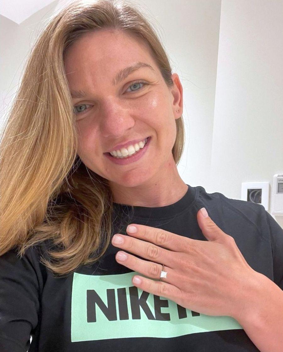 Simona Halep, cerută de soție de Toni Iuruc! Cum arată inelul de logodnă