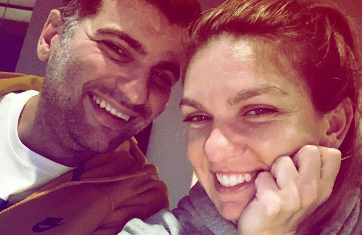 Simona Halep și Toni Iuruc