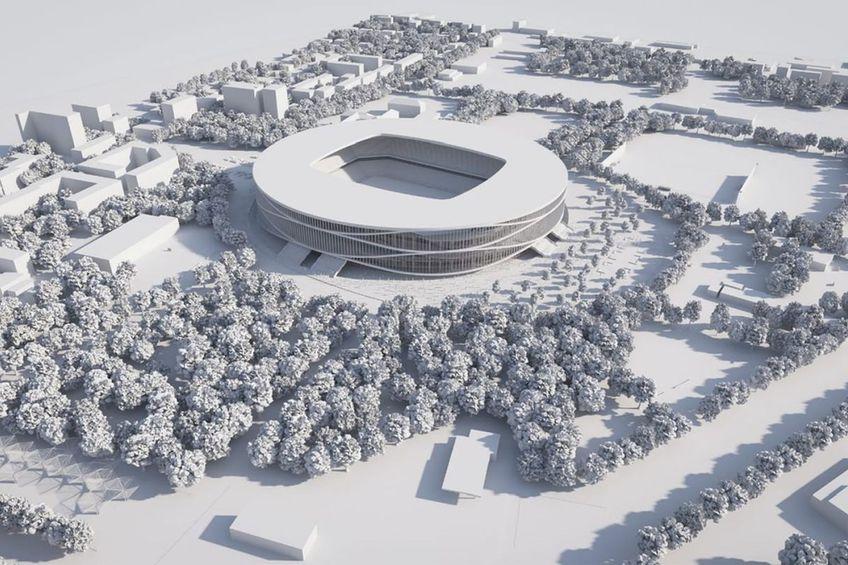 Un stadion nou ar urma să fie construit în Timișoara // foto: Facebook @ Alin Nica