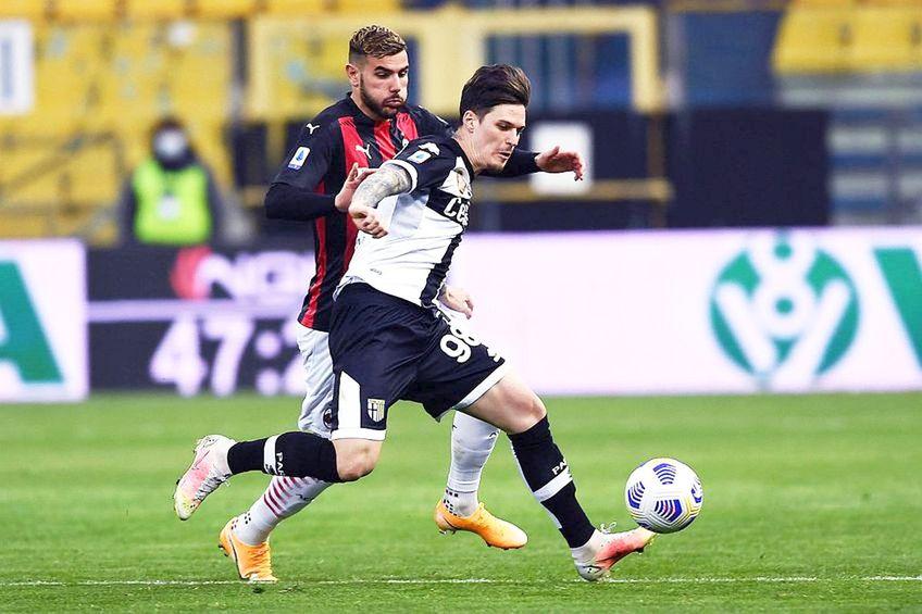 Dennis Man a înscris de două ori pentru Parma