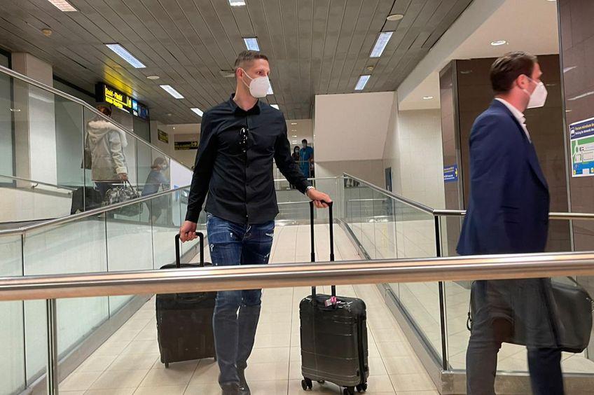 Stipe Vucur a venit în România cu două bagaje // foto: GSP.ro