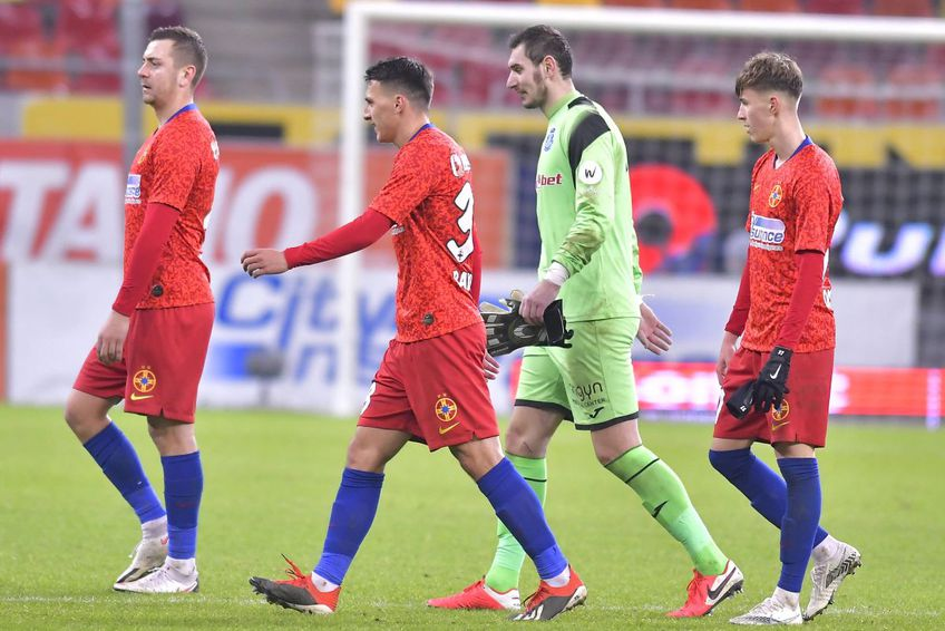 Laurențiu Brănescu (al doilea din dreapta) este dorit de FC U Craiova // foto: Imago