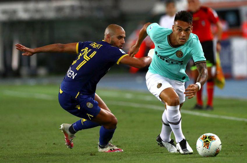 Verona și Inter au remizat, scor 2-2, în ultima etapă din Serie A