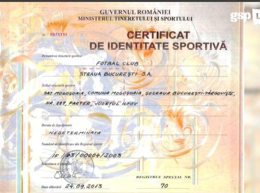 Documentul prezentat de Adrian Topîrceanu