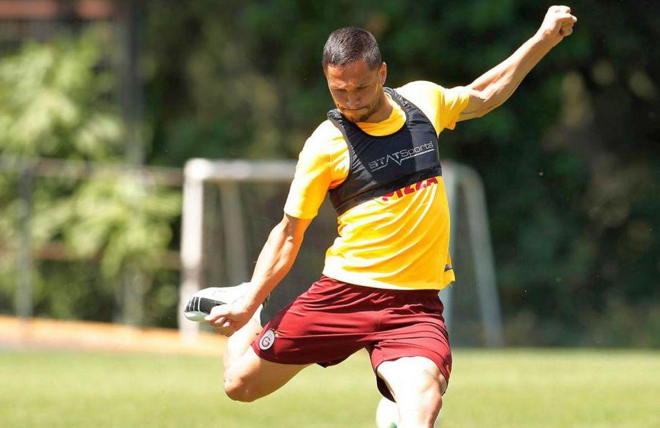 Florin Andone se va întoarce la Brighton după împrumutul la GAlatasaray // foto: Facebook @ Galatasaray
