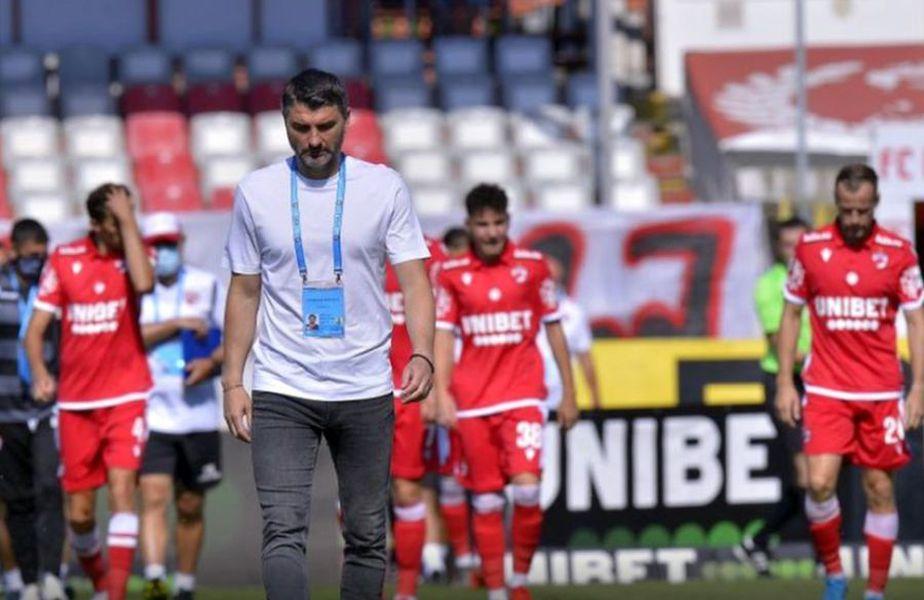 Dinamo a fost pierdut semifinala cu FCSB din Cupa României, 0-4 la general