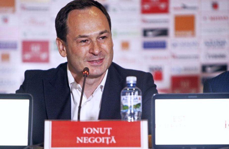 Ionuț Negoiță e de acord să cedeze clubul fanilor