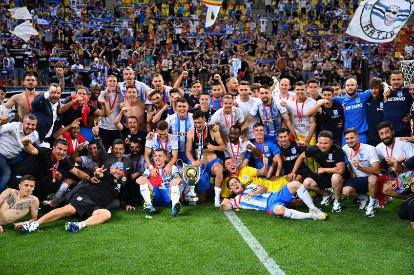 Craiova a câștigat în premieră Supercupa României