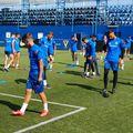 Imagine de la antrenamentul de ieri al lui Viitorul // foto: Facebook