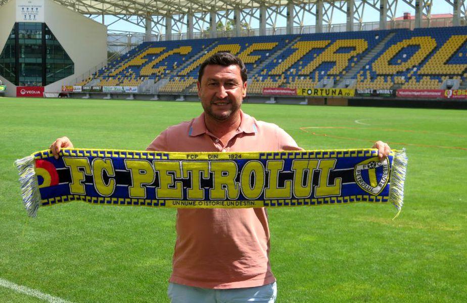 Viorel Moldovan // foto: Facebook @ FC Petrolul Ploiesti