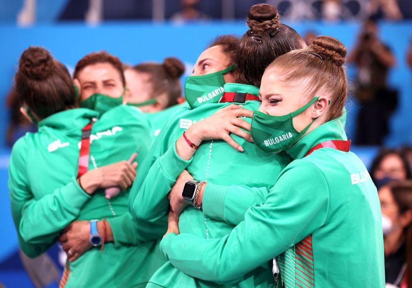 Ansamblul Bulgariei a cucerit titlul olimpic în ultima zi de competiții a Jocurilor de la Tokyo / foto: Guliver/Getty Images