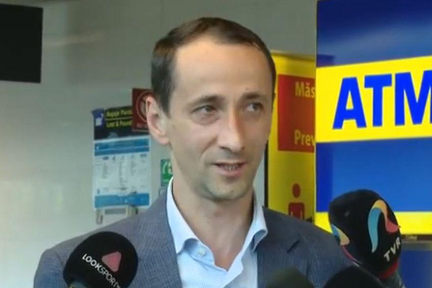 Mihai Covaliu, președintele COSR // foto: captură Agerpres