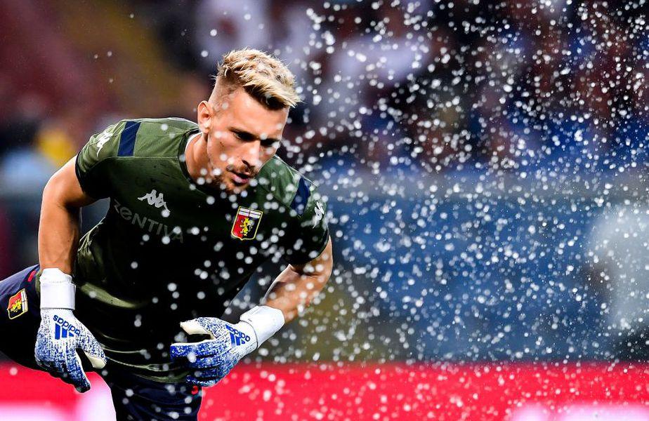FOTO: GettyImages // Ionuț Radu, portarul lui Genoa
