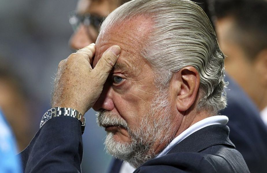 Aurelio De Laurentiis. foto: Guliver/Getty Images