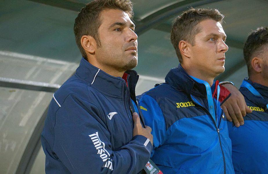 Adrian Mutu a pierdut primul meci ca selecționer // FOTO: frf.ro