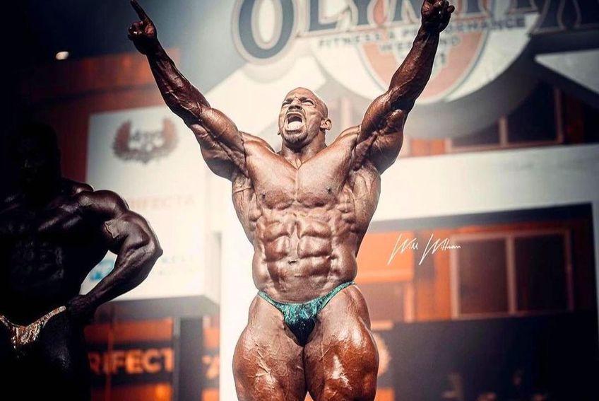 """Mamdouh Elssbiay (37 de ani), cunoscut ca """"Big Ramy"""", este Mr. Olympia 2021. Anul trecut, tot egipteanul a câștigat cea mai mare competiție internațională de culturism."""